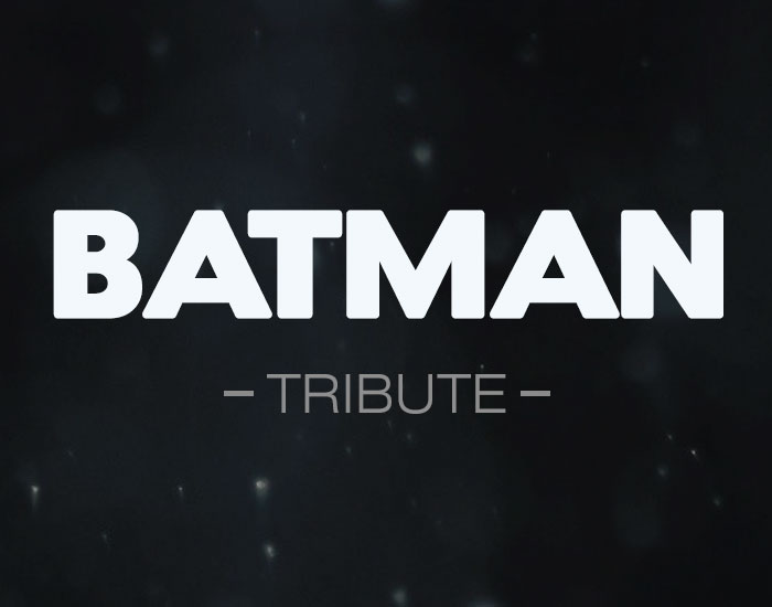 Batman Tribute